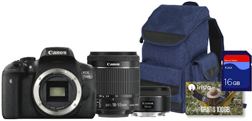 Canon EOS 750D (pack)
