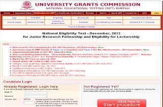 Ugc-net download december for 2012 online jrf admit card