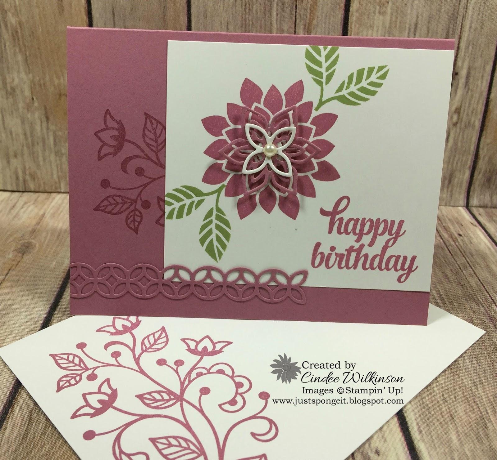 Flourishing Phrases Birthday Card/Gift Certificate