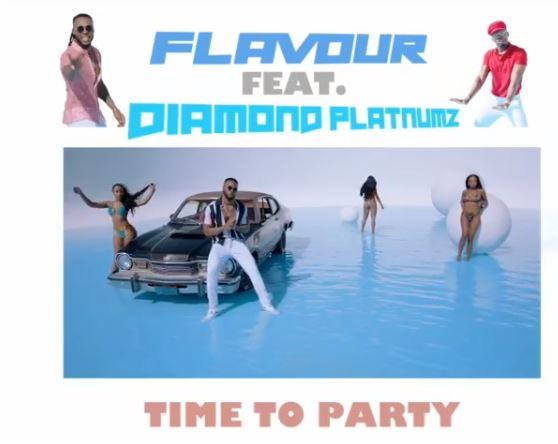Download Mp3 : Mr Flavour Ft  Diamond Platnumz – Time to Party