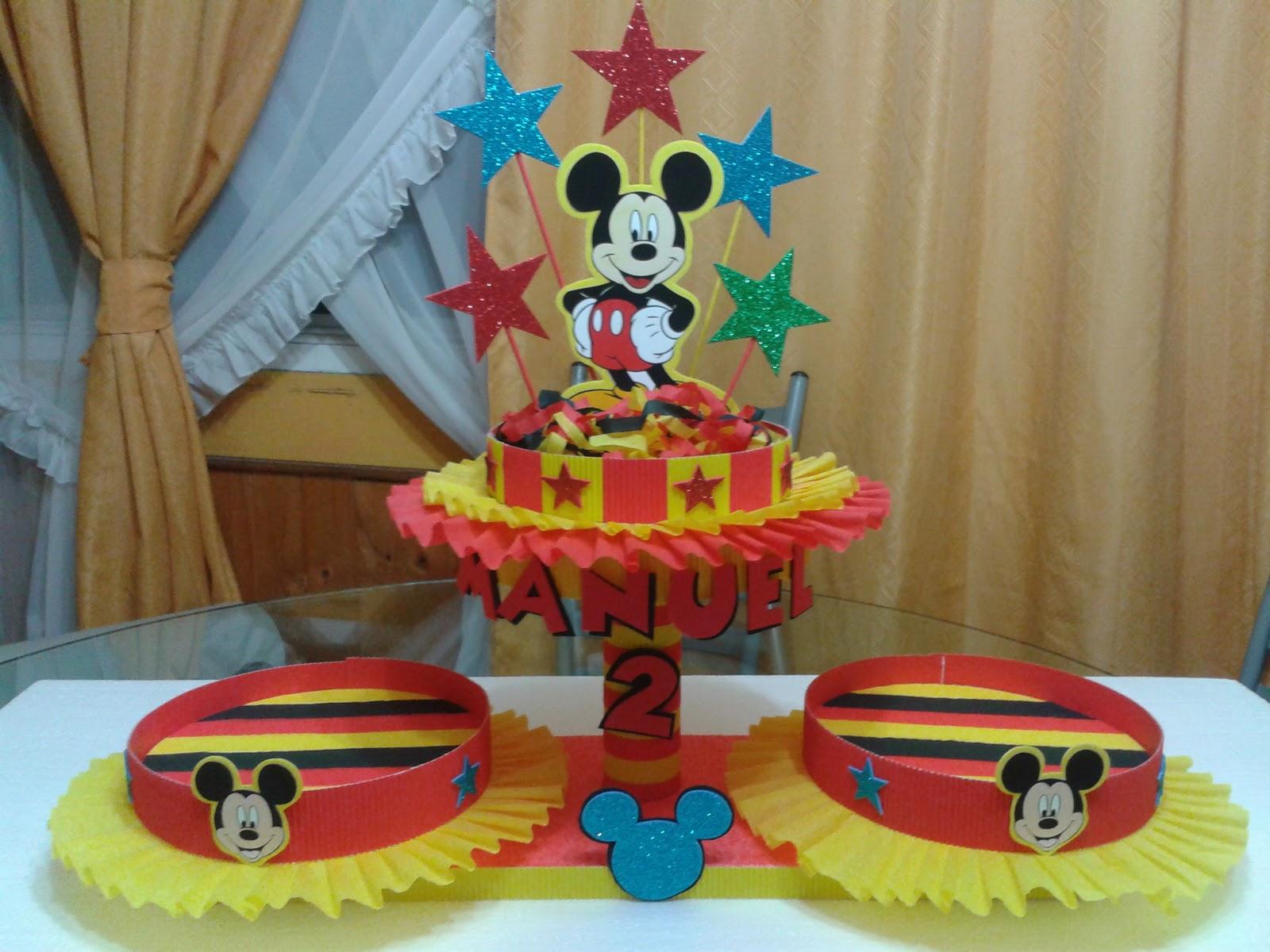 Decoraciones infantiles mickey mouse - Decoracion mesas infantiles ...