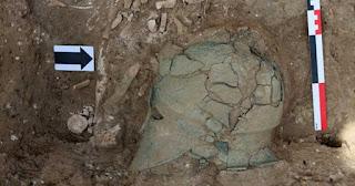 Αρχαία κορινθιακή περικεφαλαία εντοπίστηκε σε ανασκαφές στη Ρωσία