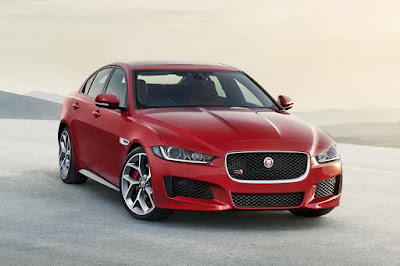 Best of 25 Jaguar XF Luxury Sports Saloon Red color Hd Image