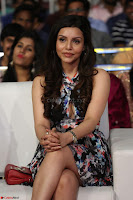 Kyra Dutta in a Deep neck Small Dress at Shamanthakamani pre release function ~  Exclusive 088.JPG