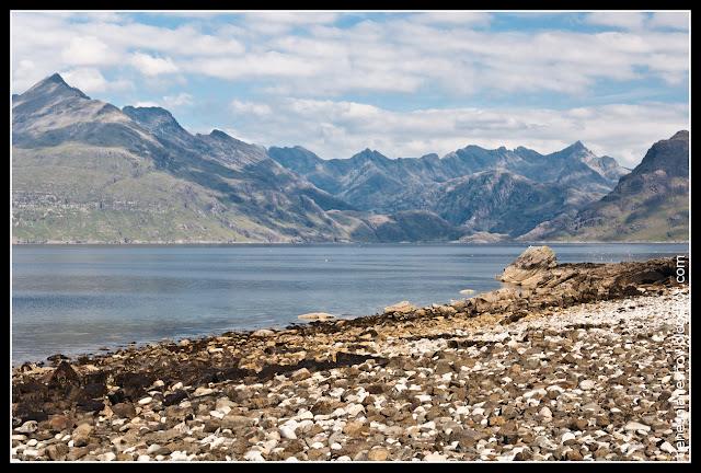 Lago Courisk Skye (Escocia)
