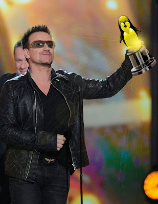 Bono STP lifetime achievement award winner 2012