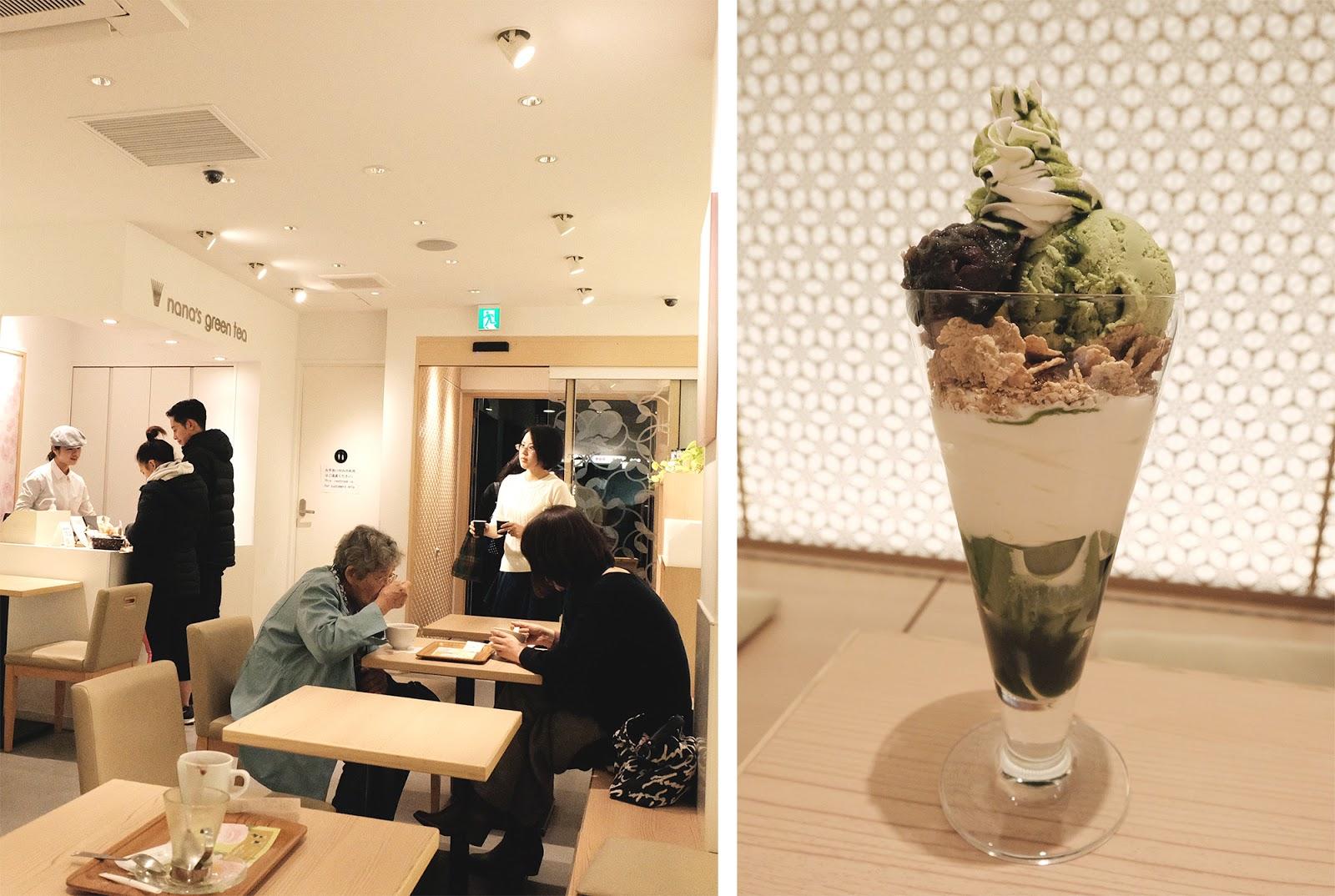 Nana's Green Tea Matcha Parfait Gion Kyoto | www.bigdreamerblog.com