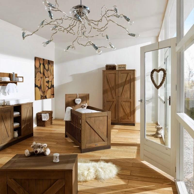 Blanco y madera para decorar el hogar y un espacio infantil