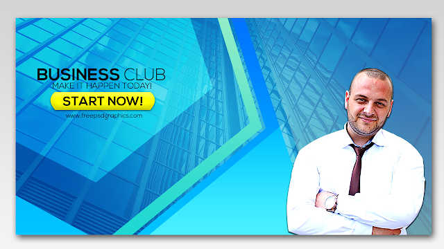 Corporate Business Facebook Post Banner Advertising Free PSD Graphics Design
