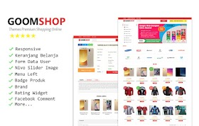 Goomshop Responsive Blogger Template