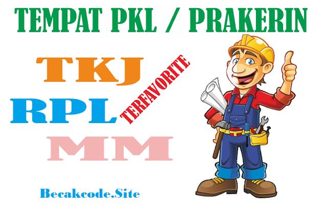 4 Tempat PKL Di Jogja Jurusan  TKJ , RPL ,PM,Permesinan dan Mutlimedia