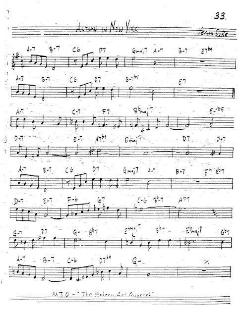 Partitura Trompeta Vernon Duke