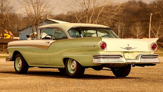 1957 Ford Fairlane 500 Dual Quad Rear