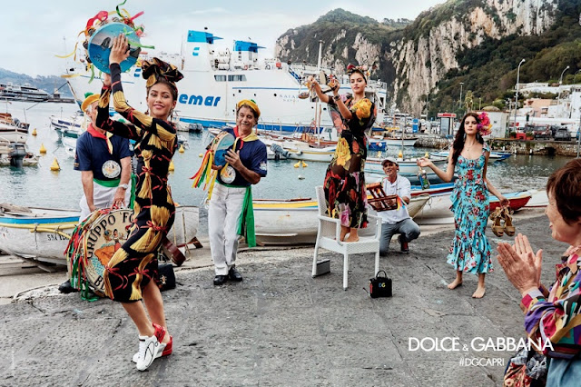 Dolce & Gabbana Spring/Summer 2017 Campaign