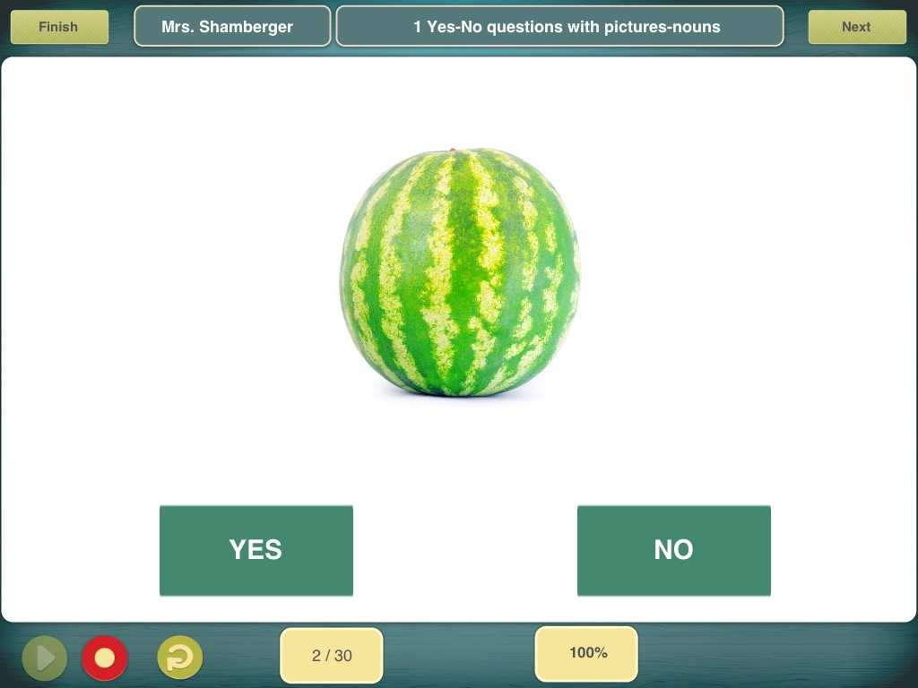 Comprehension Aphasia App Review