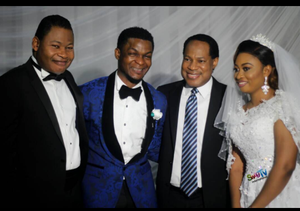 Joe praize and Joanna with Pastor Chris Oyakhilome (eventplannerng)