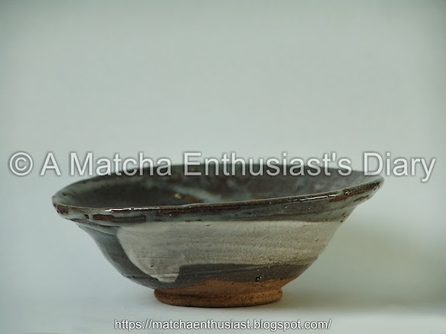 Tea Bowl of old Korean Style Brush Pattern