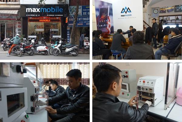 Dịch vụ sửa chữa chuyên nghiệp tại Maxmobile