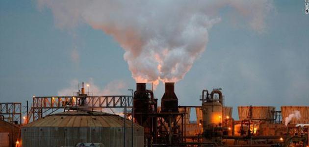 مواد ناتجة من الغاز الطبيعي