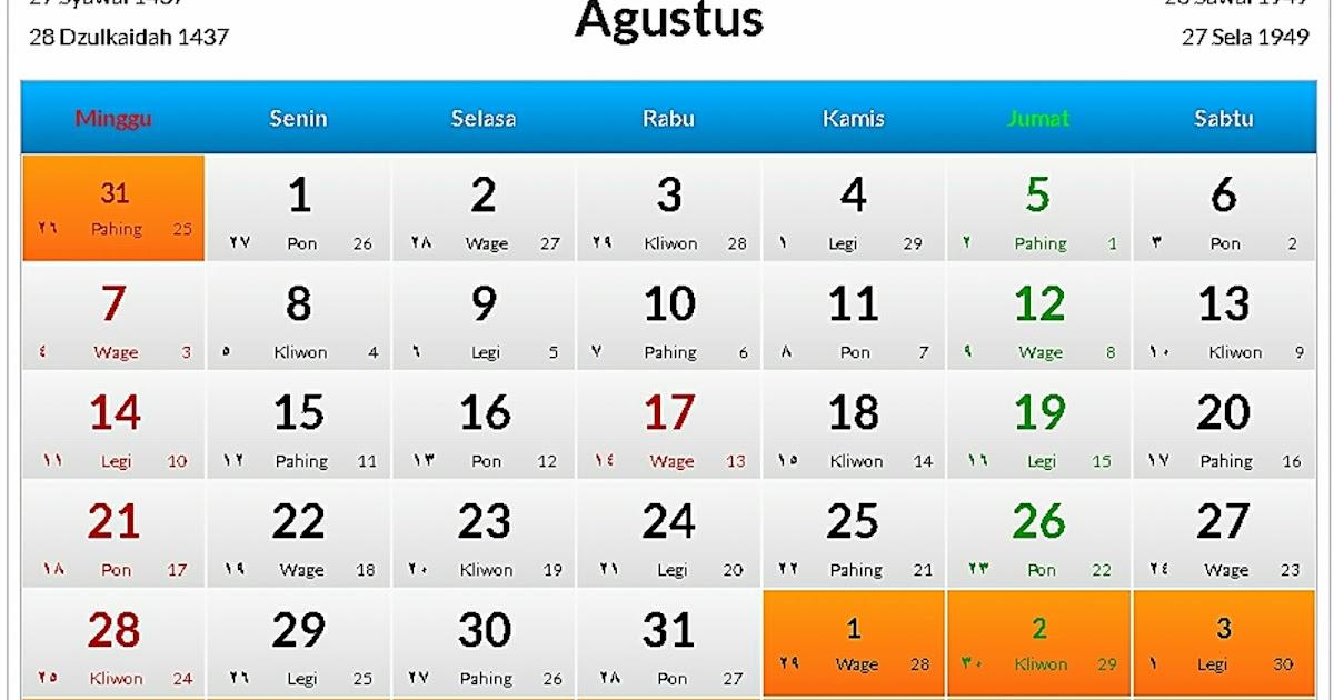 Kalender Event Bandung Bulan Agustus 2016 - Wisata Bandung