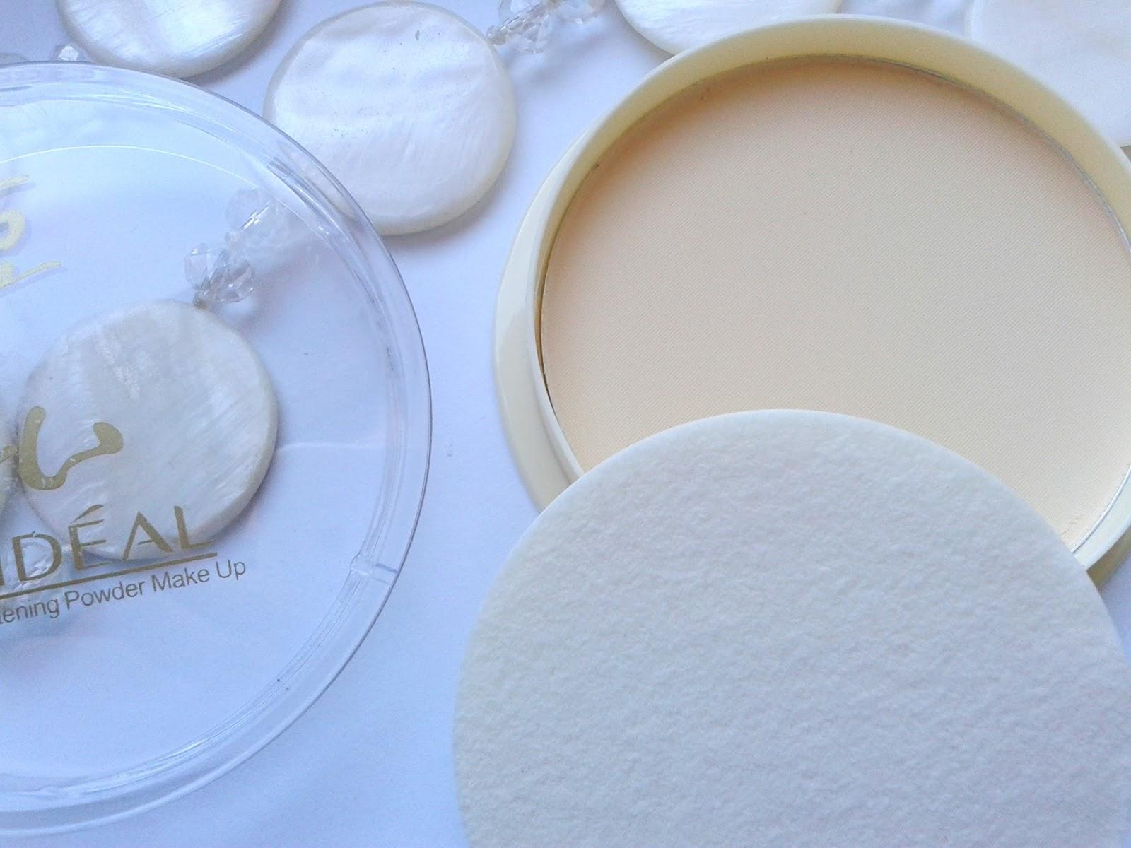 lideal azjatycki puder wybielający whitening powder