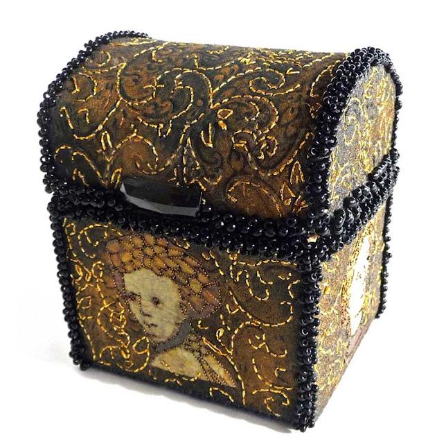 pudełeczka tekstylne
