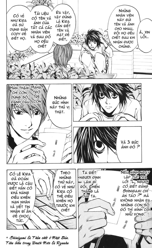 Death Note chapter 021 trang 15