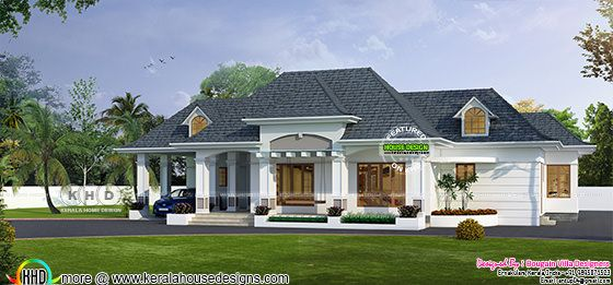 Classic bungalow architecture 2750 sq-ft