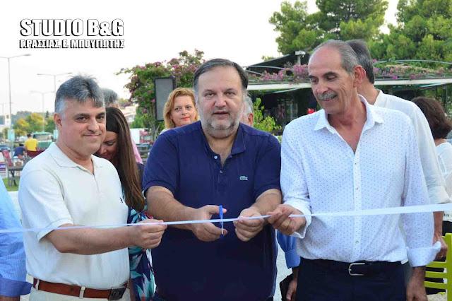 """Εγκαινιάσθηκε το Φεστιβάλ """"Όψεις και Γεύσεις"""" στο Πόρτο Χέλι Αργολίδας"""