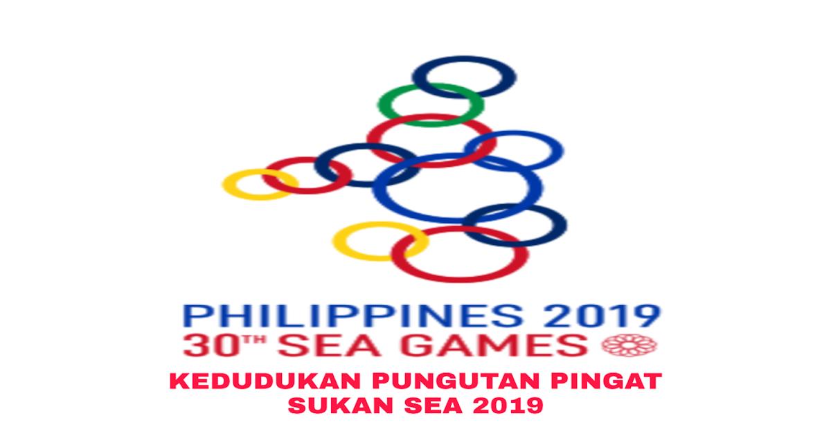 Kedudukan Pungutan Pingat Sukan Sea 2021 Emas Perak Gangsa My Info Sukan