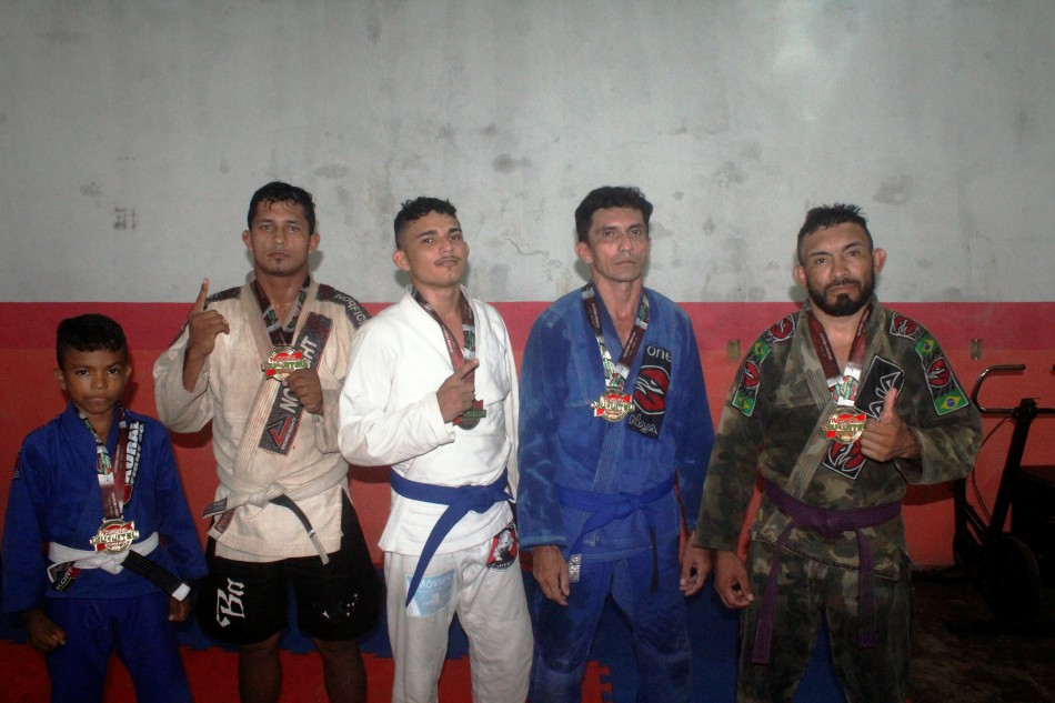 Atletas de Óbidos se  destacam em Campeonato de Jiu-Jítsu em Oriximiná