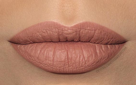 Make Up For Ever Artist Liquid Matte Lip Color Swatch 103 Warm Beige