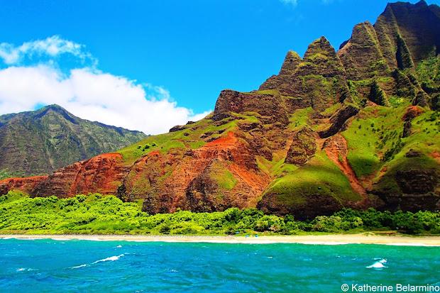 Touring Kauai' Na Pali Coast With Napali Catamaran Travel World