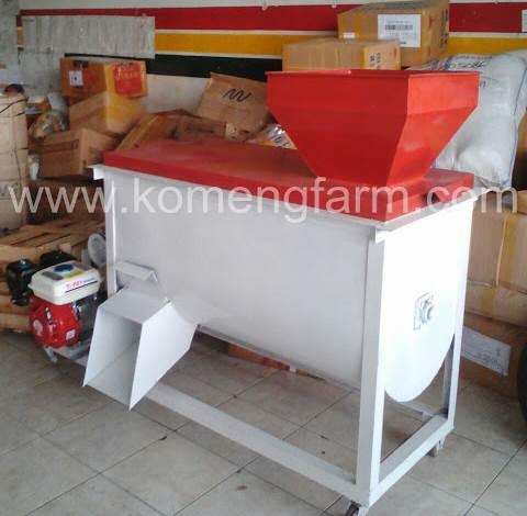 Mixer / Pengaduk pakan kapasitas 50 / 75 kg