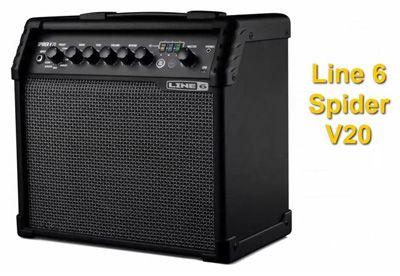 Amplificador para Guitarra Eléctrica Line6 Spider V20