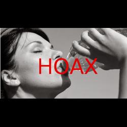 Hoax: Água com estômago vazio!!! Leiam, super interessante!