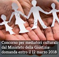 concorso pubblico ministero della giustizia per mediatori culturali