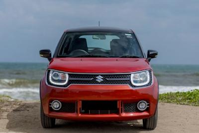 Eksterior Suzuki Ignis Tampak Depan