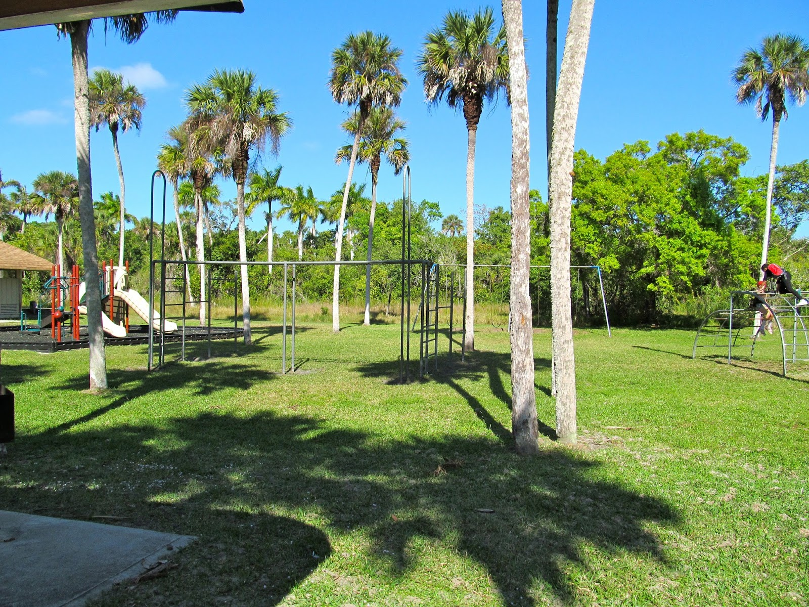 Playground at Collier-Seminole State Park - Naples, FL
