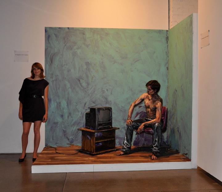 Смесь живописи и фотографии. Alexa Meade