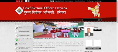 Haryana Voter Id Apply Online