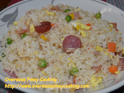 Ham and Egg Fried Rice, Yang Chow Style