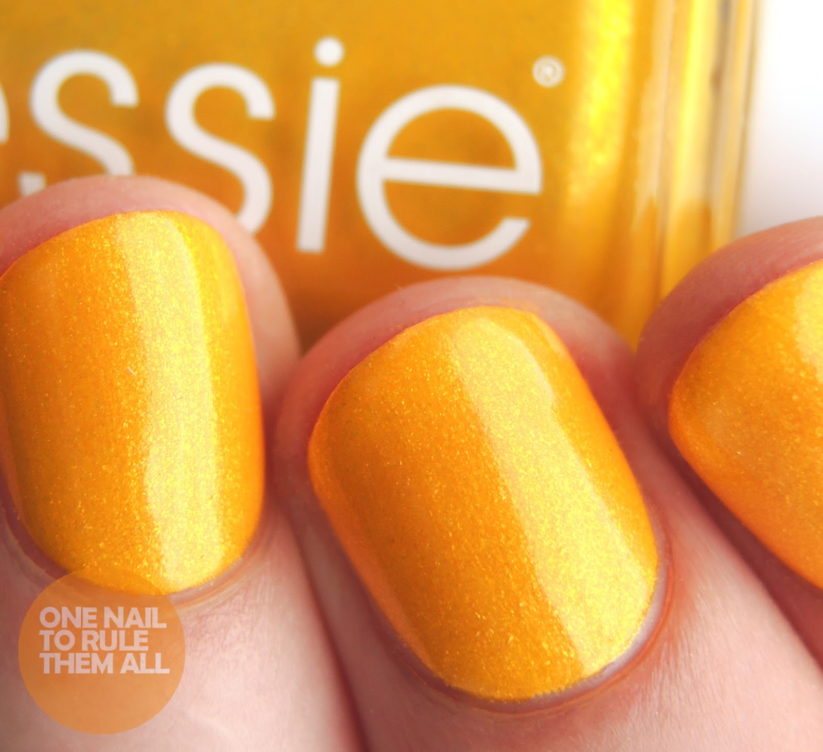 One Nail To Rule Them All: Essie 1000th Shade - Aim To Misbehave ...