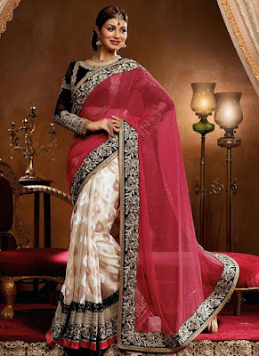 Ayesha Takia an active Bollywood celeb but when it comes to wearing saree many Indian brides do copy her.