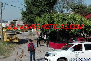 Balacera en Cuitlahuac Veracruz deja un ejecutado este Miercoles