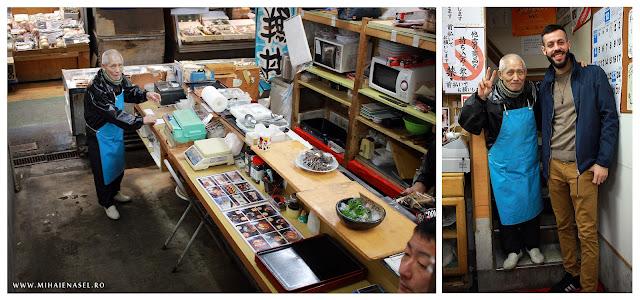 Mihai Enasel, Market Sushi Restaurant, Fukuoka Japan