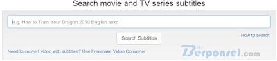 situs download subtitle dengan terjemahan terbaik