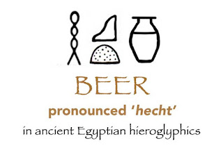 beer in ancient egyptian hieroglyphics