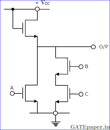 Multiplexer Circuit With Logic Gate Transistor Logic