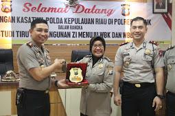 Lagi Lagi Polres Gresik Terima Kunjungan Study Tiru Rombongan Polda Kepulauan Riau